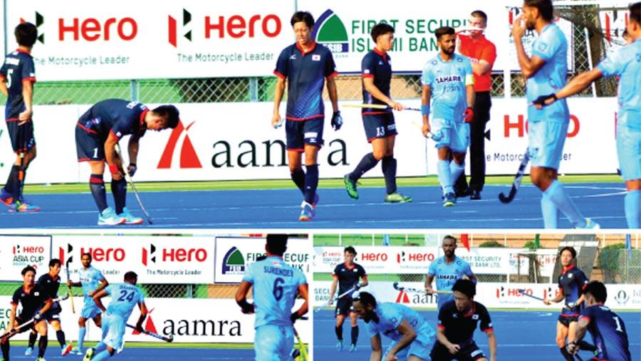 aamra at Hero Hockey Asia Cup Bangladesh 2017