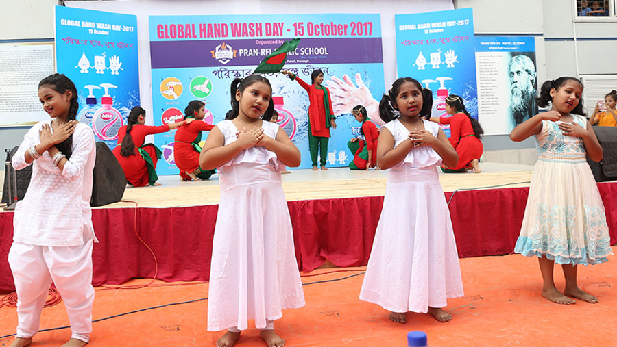 PRAN-RFL schools observe Global Handwash Day