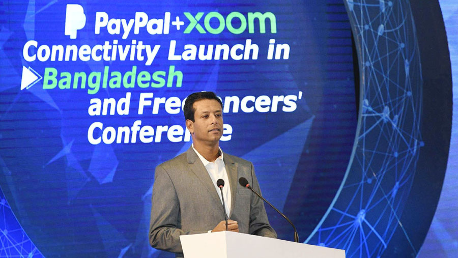 PayPal 'xoom' service launched in Bangladesh