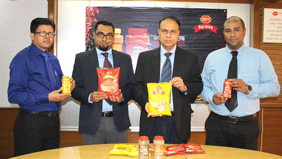 PRAN Spice unveils new packaging
