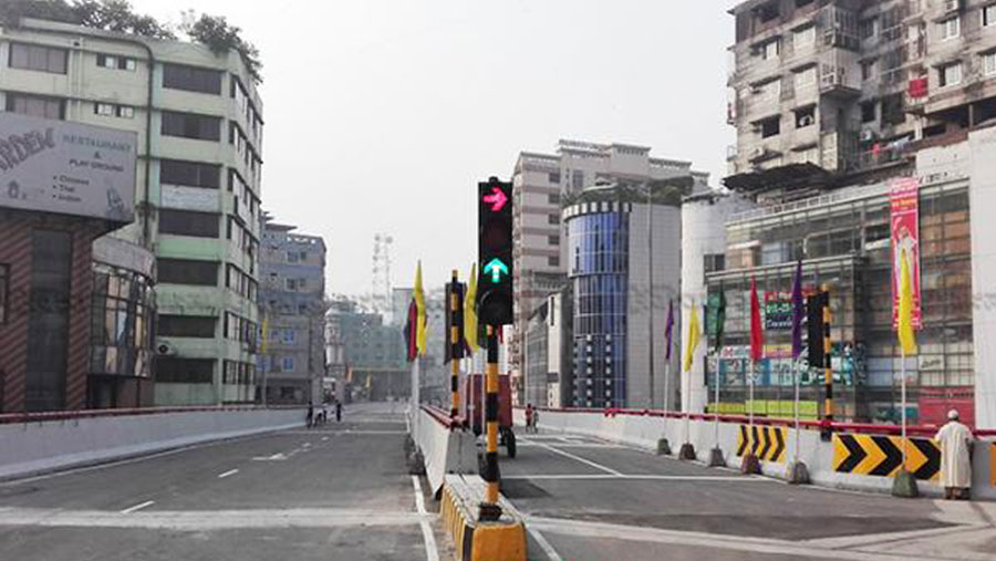 Mouchak flyover opens to public today