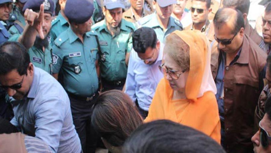 Hearing on Khaleda's graft case adjourned till Nov 2
