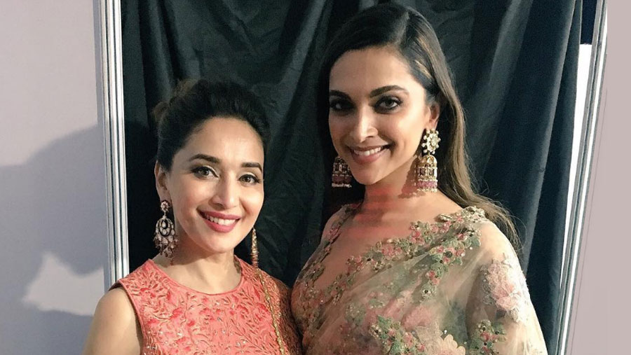 Madhuri praises Deepika's Ghoomar