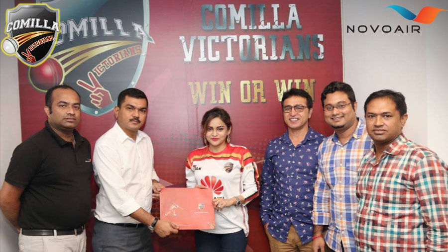 NOVOAIR becomes airline partner of Comilla Victorians