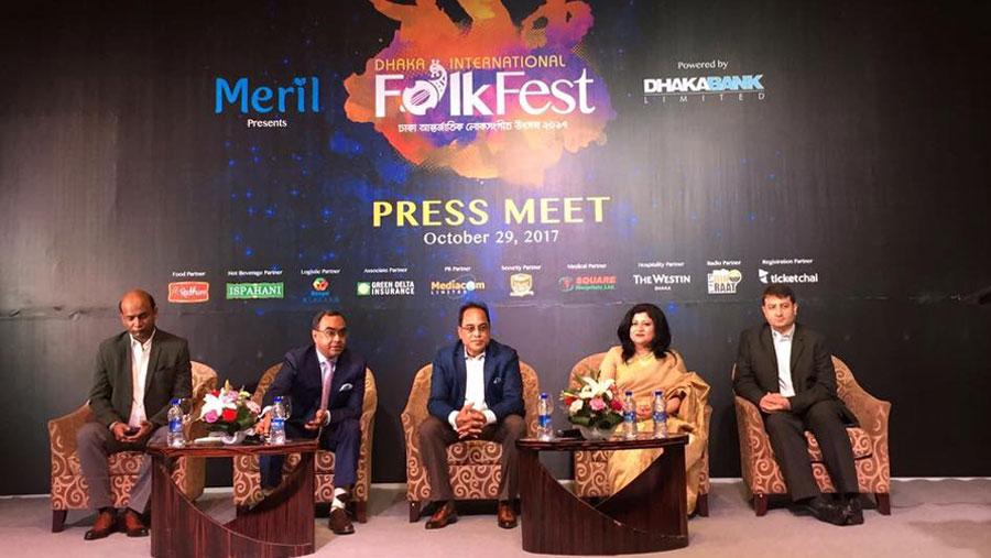 Dhaka Int'l Folk Fest from Nov 9-11