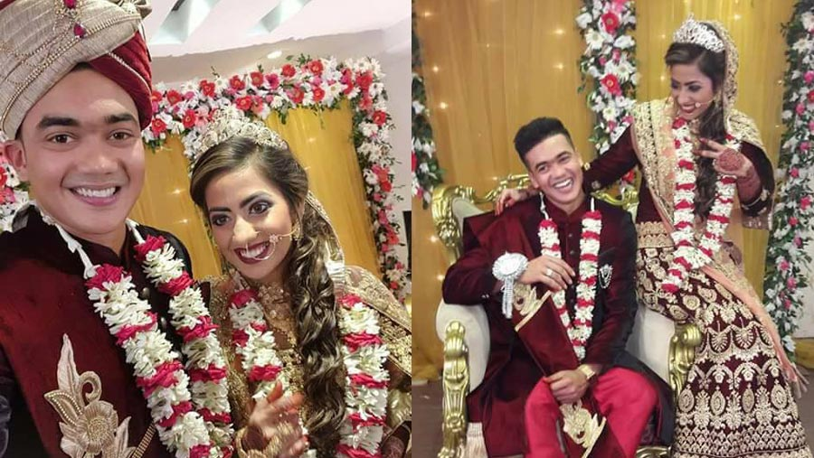 Taskin Ahmed ties the knot