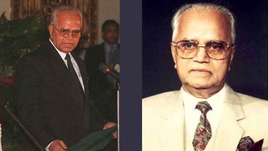Former President Abdur Rahman Biswas dies