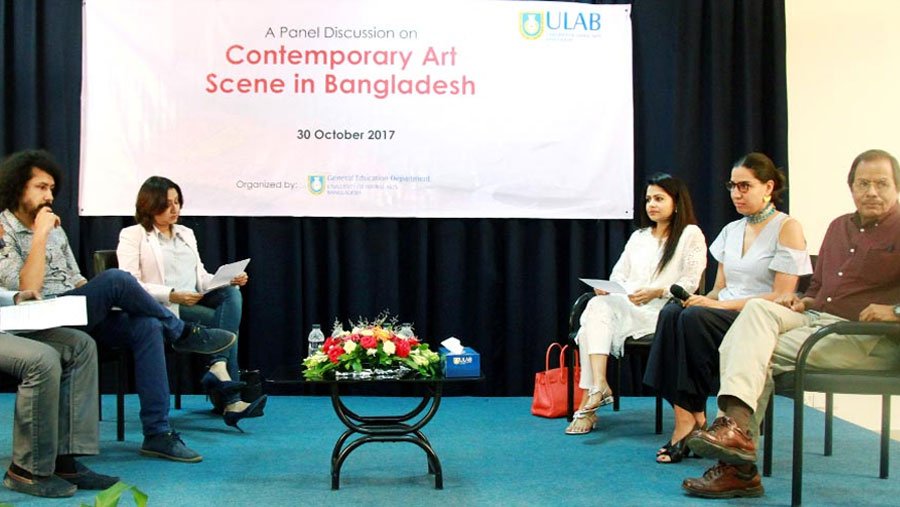 Discussion on Bangladesh's art scene