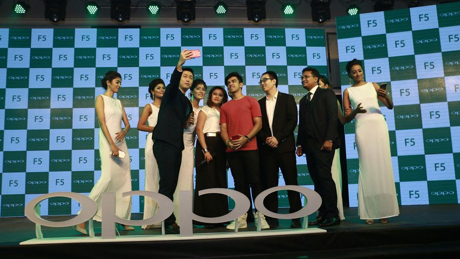 OPPO F5 launched in Bangladesh market