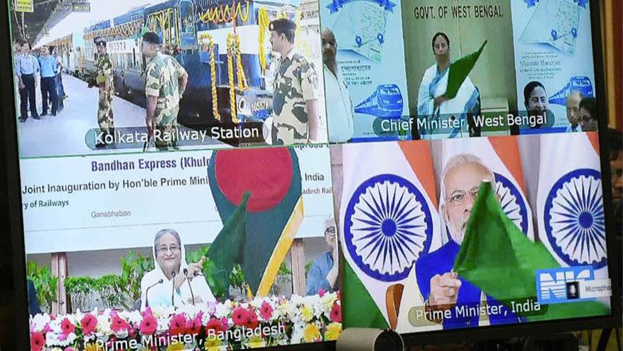 Khulna-Kolkata train service launched