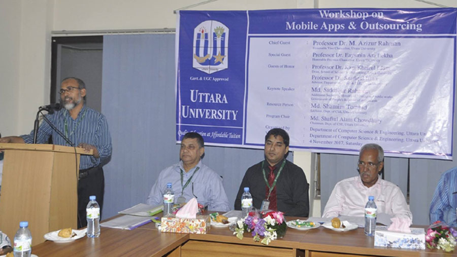 Workshop on mobile apps and outsourcing at UU