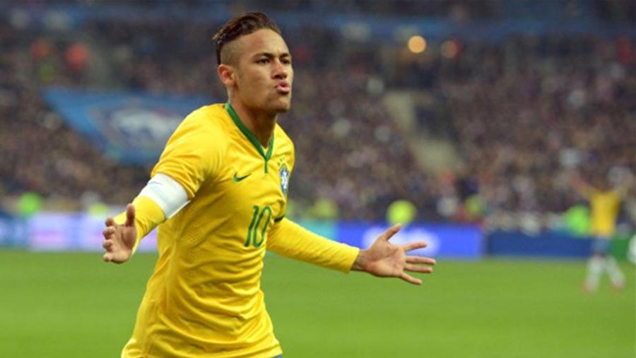 Neymar scores as brazil beat Japan in friendly