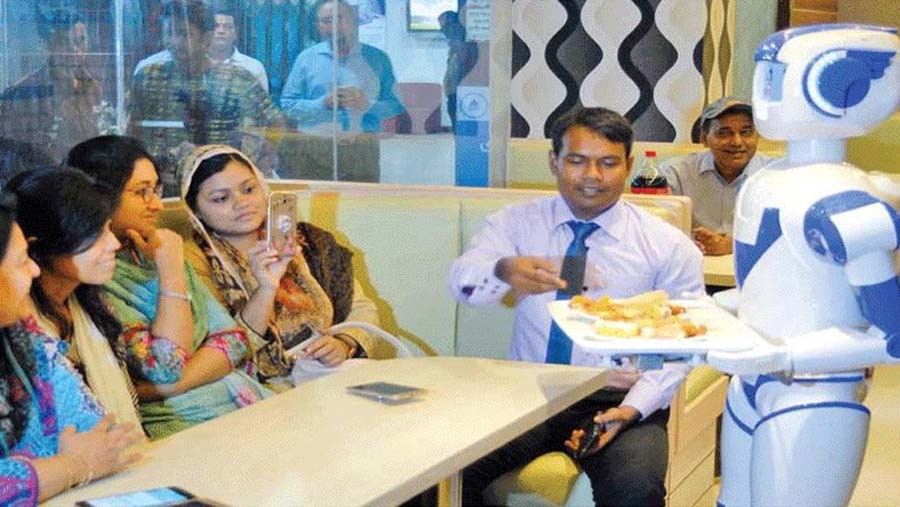 First robot restaurant launched in Bangladesh