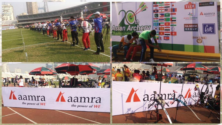 aamra at 20th Asian Archery Championship