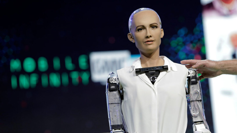 Robot Sophia to visit Bangladesh