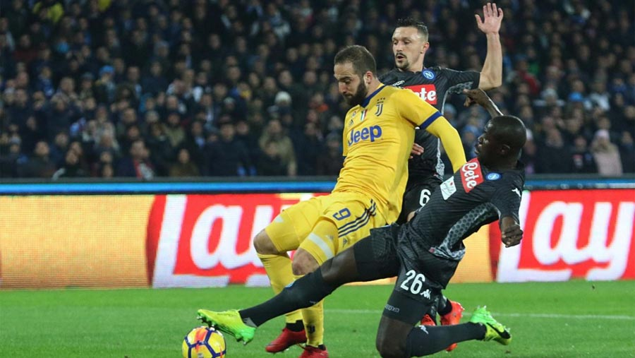 Higuain punishes former club