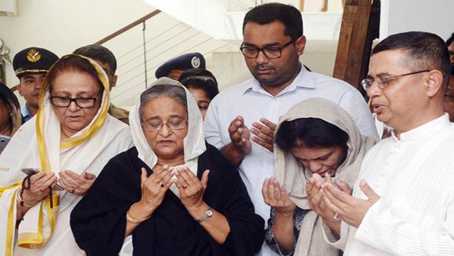 PM visit Annisul Huq's family