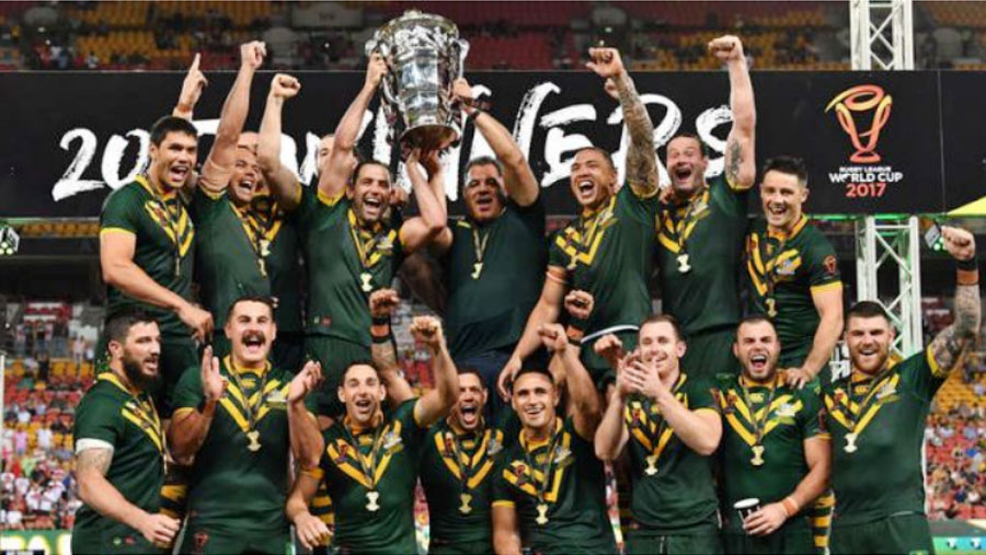Australia win Rugby League World Cup