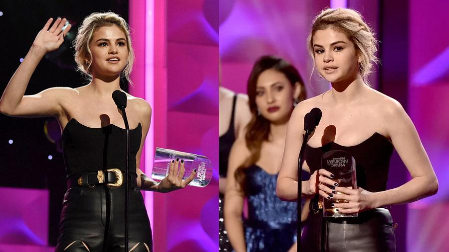Selena pays tearful tribute to friend