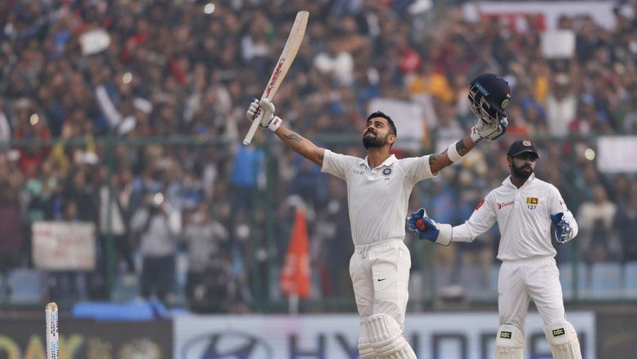 Virat Kohli scores record sixth double century