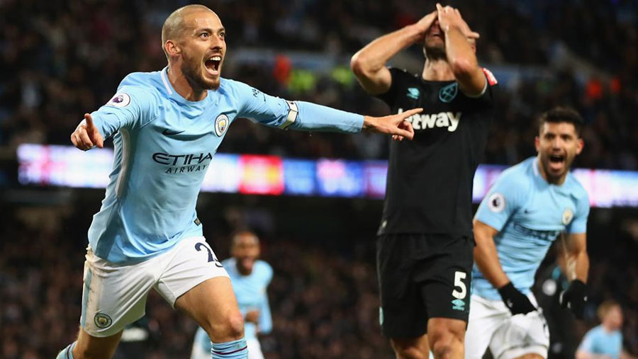 Man City fight back to beat West Ham