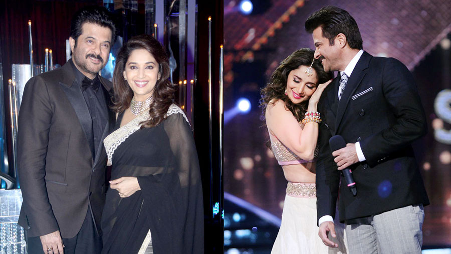 Madhuri excited to 'team up' with Anil
