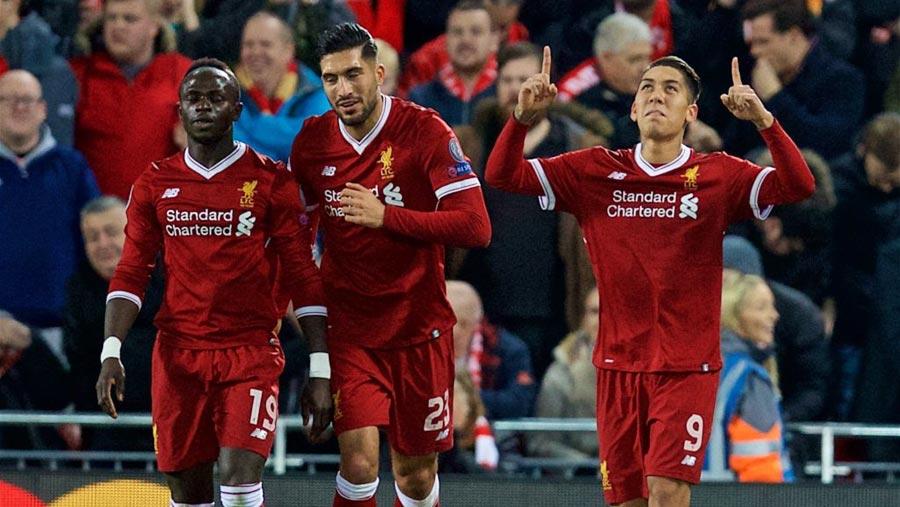 Liverpool thrash Spartak Moscow 7-0