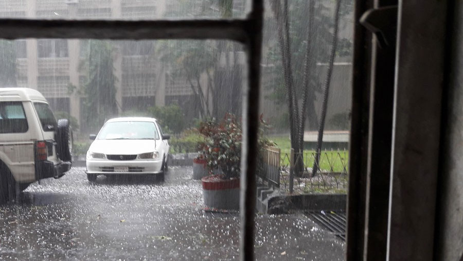 Gloomy weather may improve from Monday