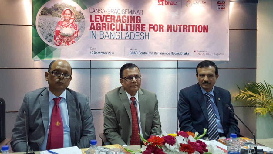 Crop diversification have positive impact on nutritional intake