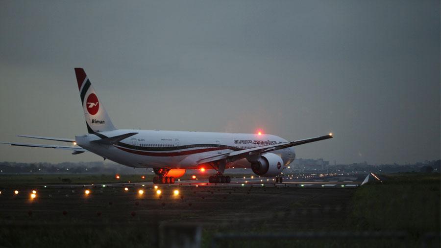 Flights disrupted at Shahjalal airport