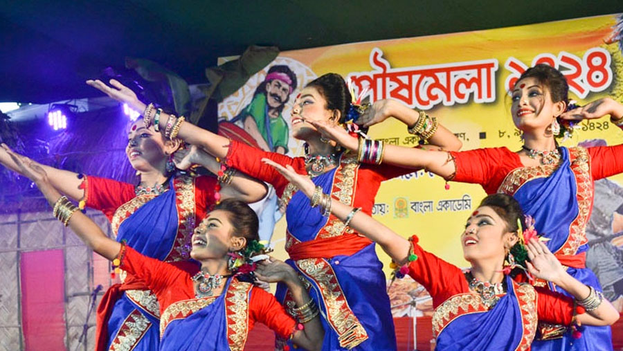 Poush Mela at Bangla Academy
