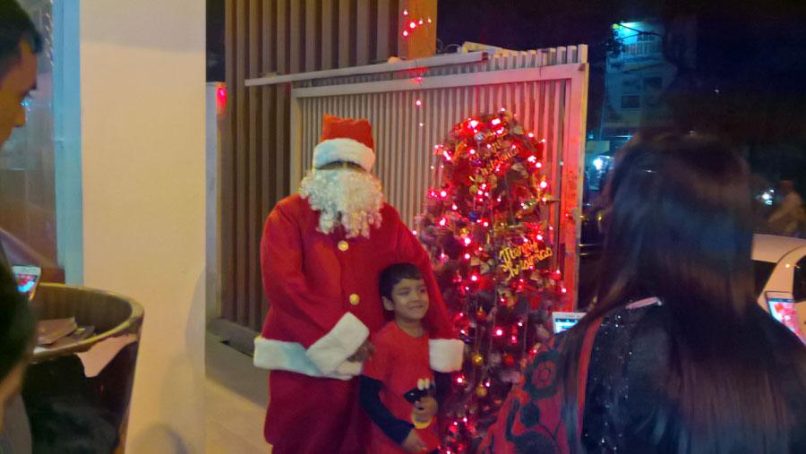 Christmas celebrated amid festivity