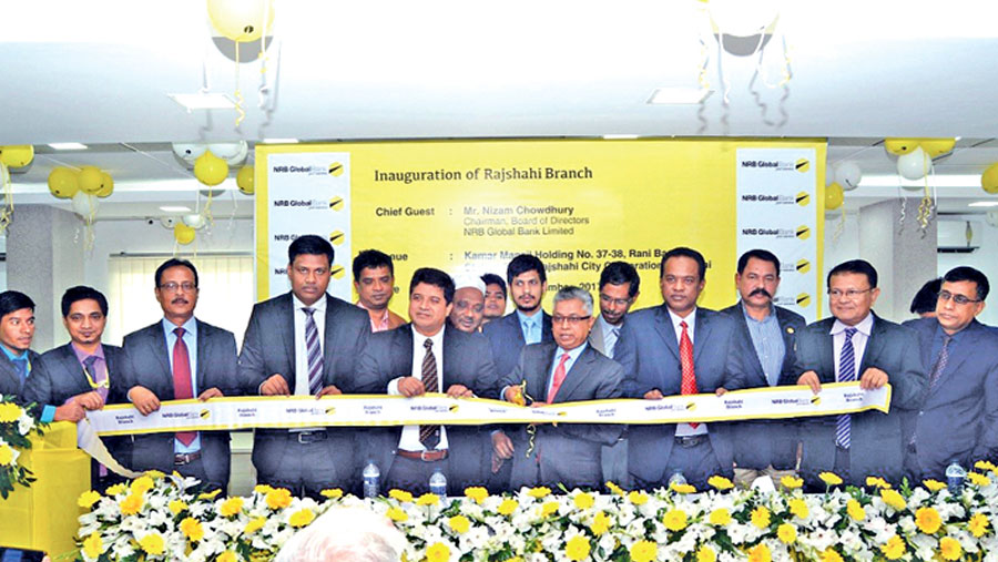 NRB Global Bank opens Rajshahi branch