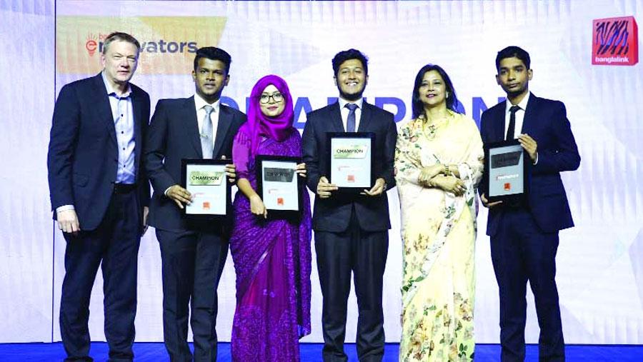 Banglalink Ennovators crowns winners