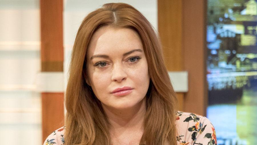Lindsay Lohan gets 'snake bite' in Thailand