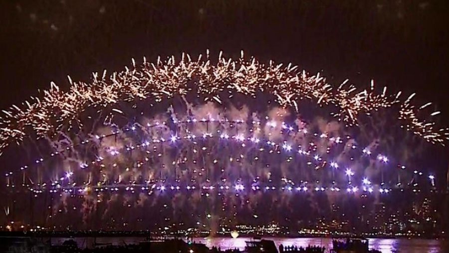 New Year celebrations in full swing