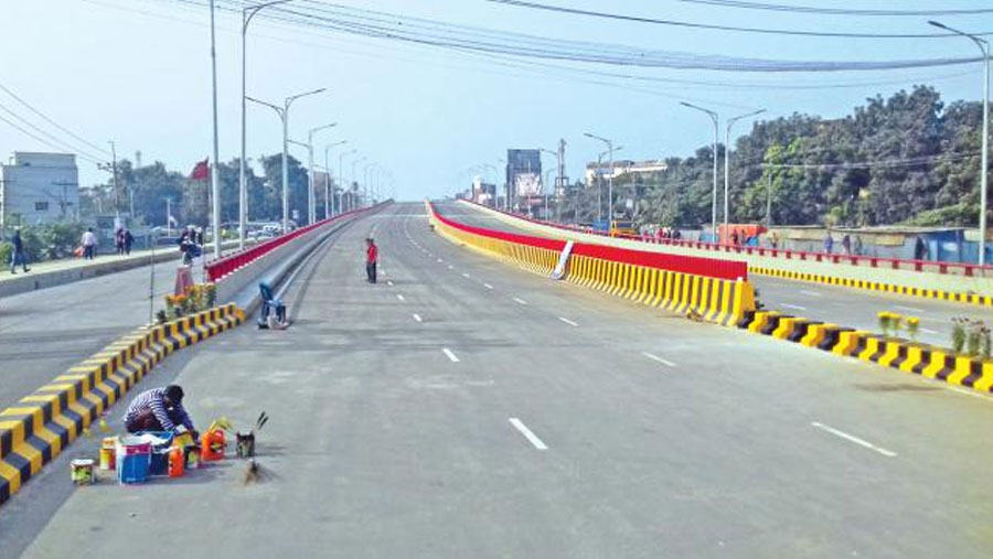 Country's first six-lane flyover opens today