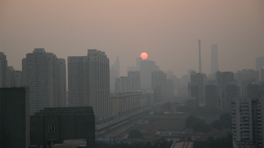 Beijing records best air quality in five years