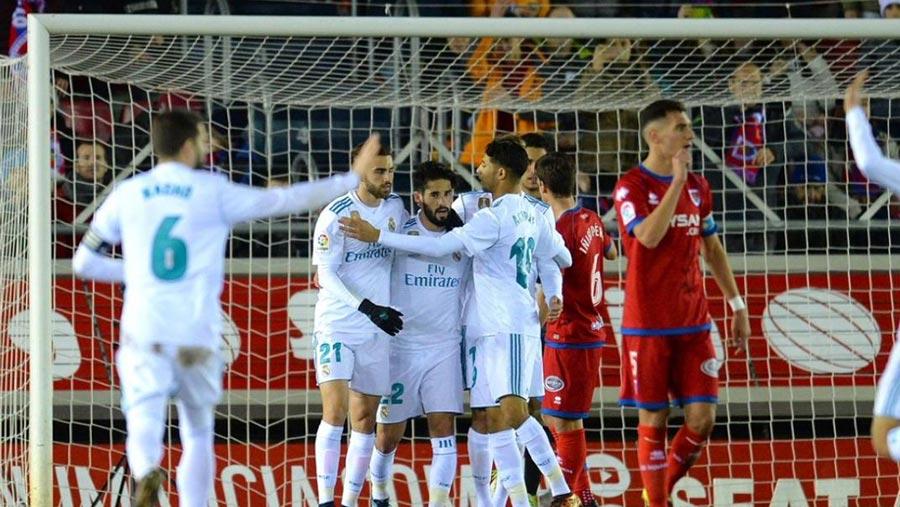 Real take big step toward Copa del Rey quarters