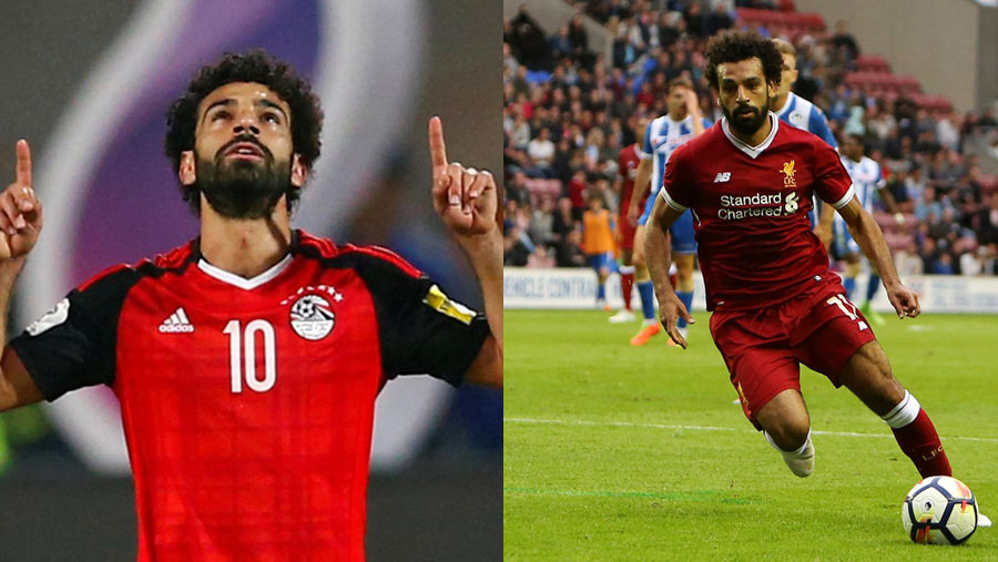 Mohamed Salah named 2017 African Player of the year