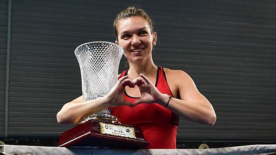 Simona Halep wins Shenzhen Open