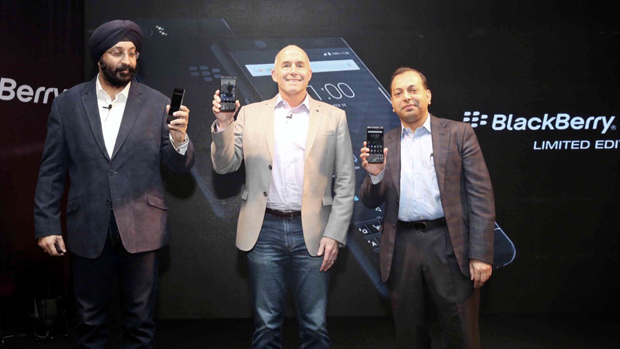 Optiemus launches BlackBerry KEYone in BD
