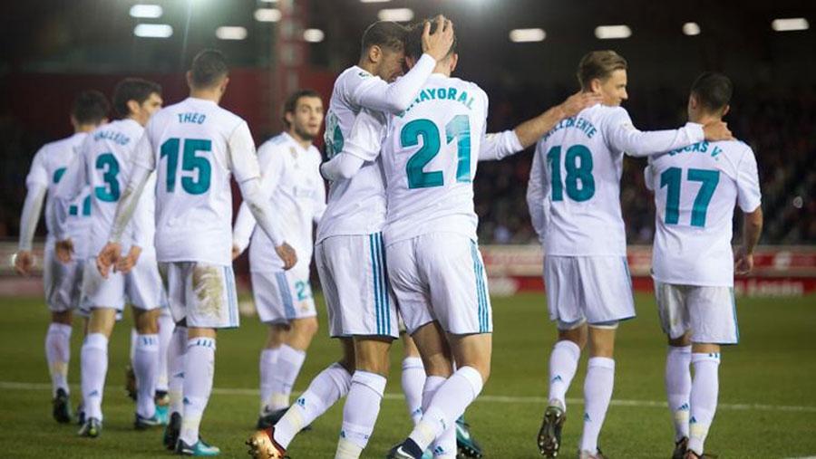 Real Madrid reach Copa del Rey quarters
