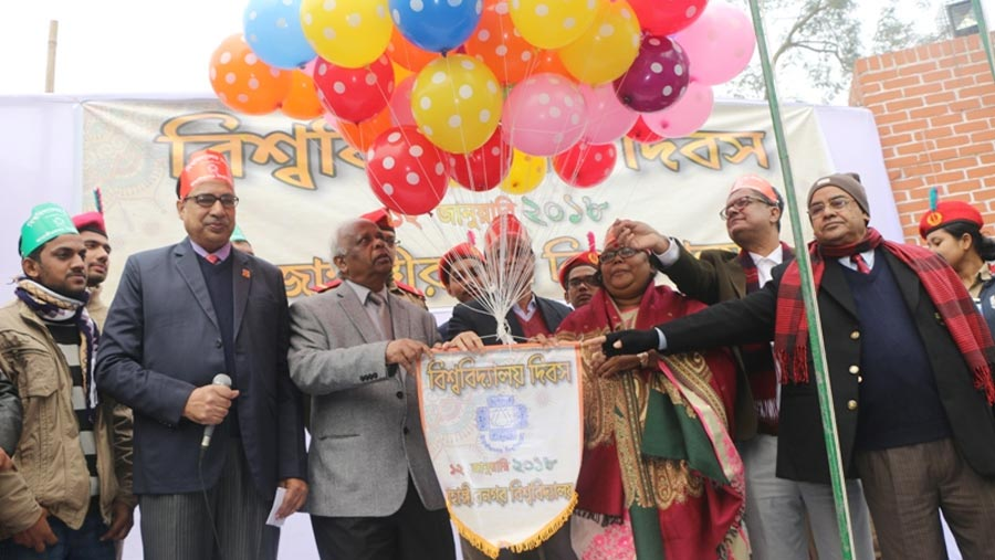 Jahangirnagar University Day observed