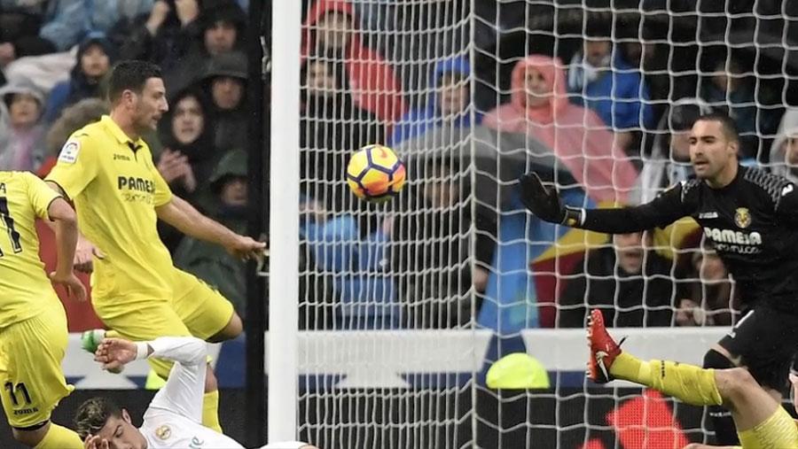 Real Madrid beaten by Villarreal
