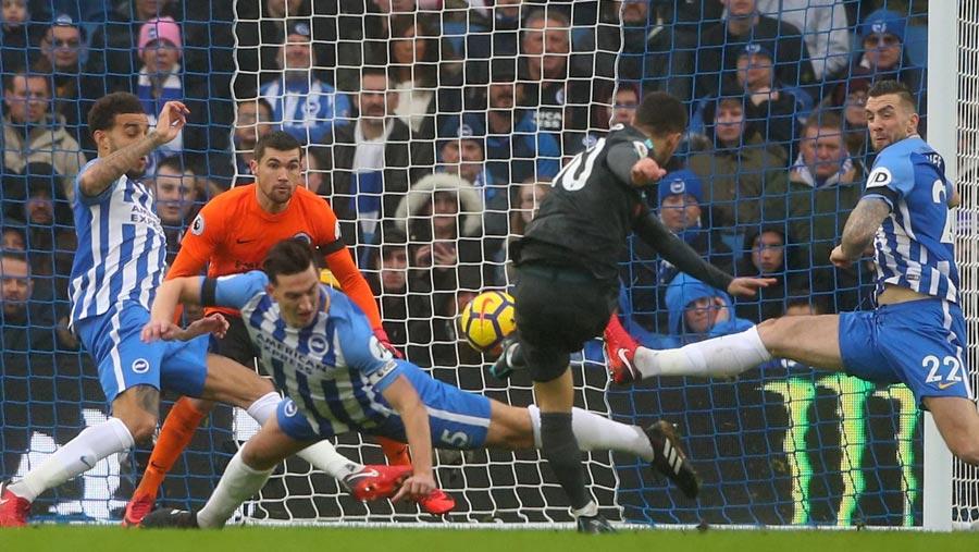 Hazard's double sends Chelsea third