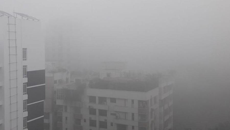 Fog disrupts communications
