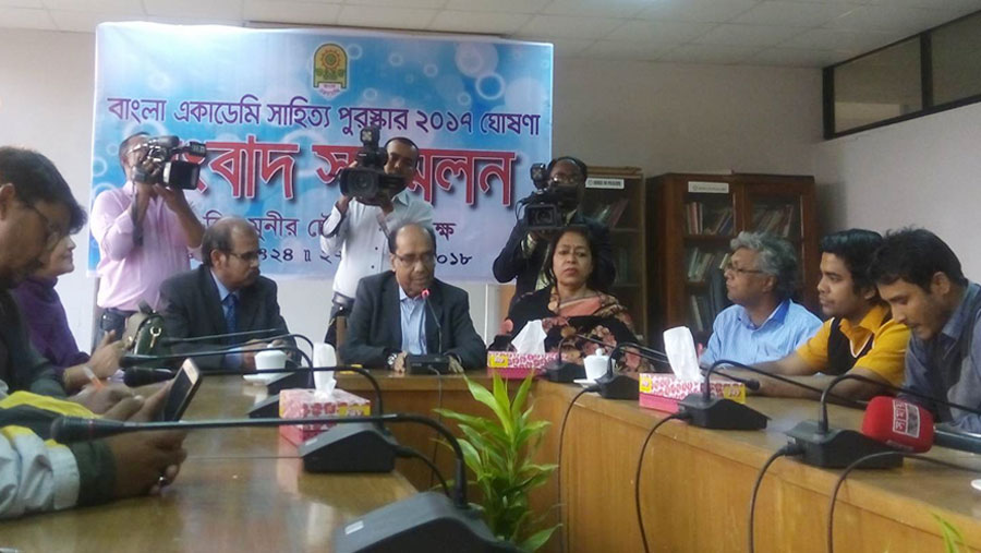 12 get Bangla Academy Literary Award 2017