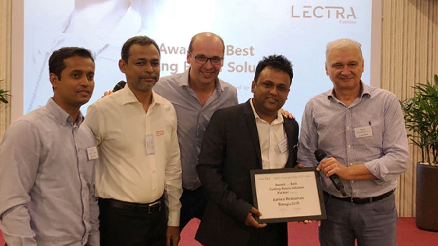 aamra receives Lectra Awards
