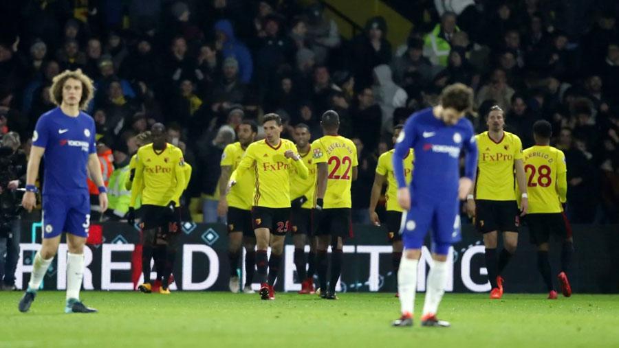 Watford humble Chelsea 4-1